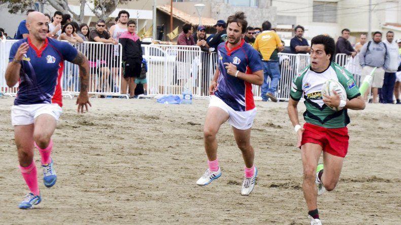 Está casi todo listo para que arranque mañana la 9ª edición del tradicional torneo de rugby playero