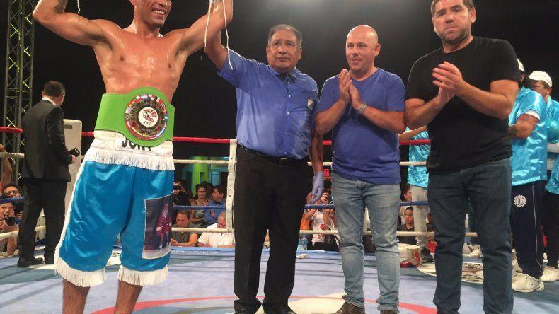 El chubutense Sánchez obtuvo el título Latino Plata Supermediano CMB