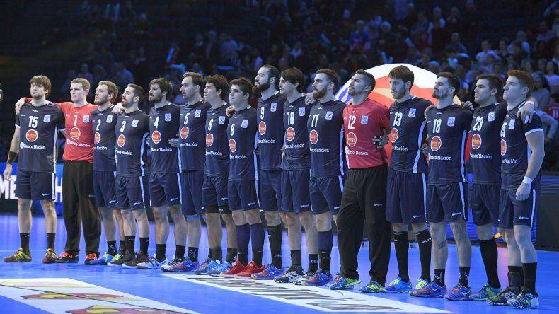 La selección argentina de balonmano quedó eliminado en la primera ronda del Mundial y hoy irá en busca del puesto 17°.