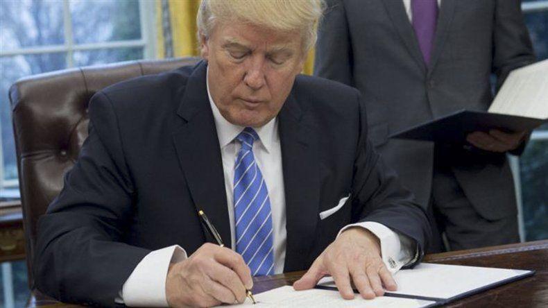 Trump retiró a EE.UU. del tratado  de libre comercio Transpacífico