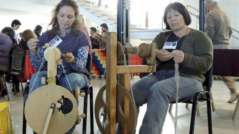 Desde hace cinco años el Colectivo de Tejedoras realiza el encuentro que en cada edición suma más interesados.