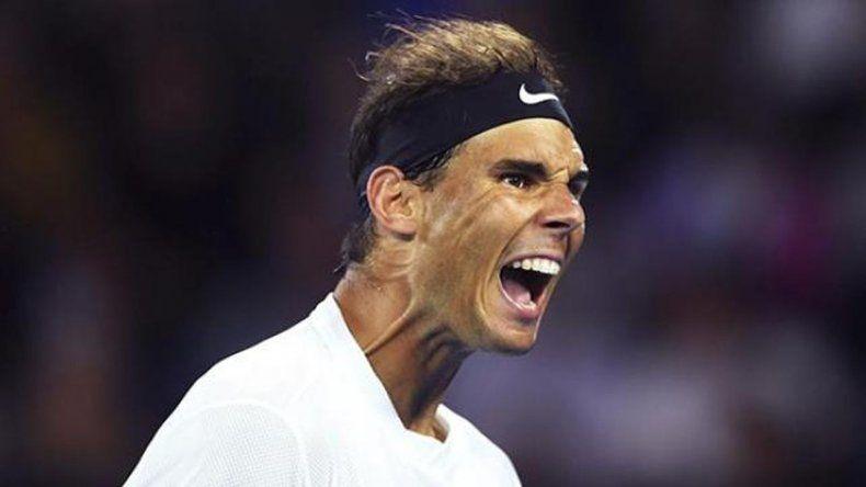 Nadal venció a Raonic y está en semifinales de Australia