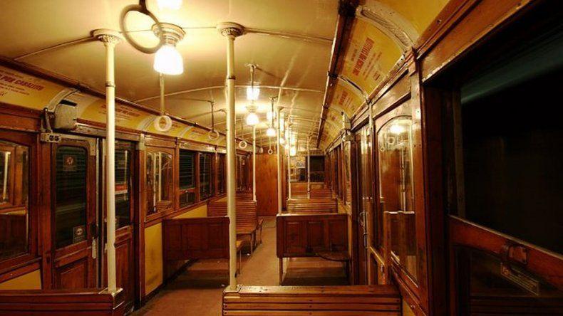 Subastaron antiguos vagones de la línea A de Subte