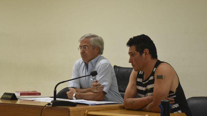Nelson Aguilante alegó su inocencia. Asegura que el crimen lo cometió otro individuo.