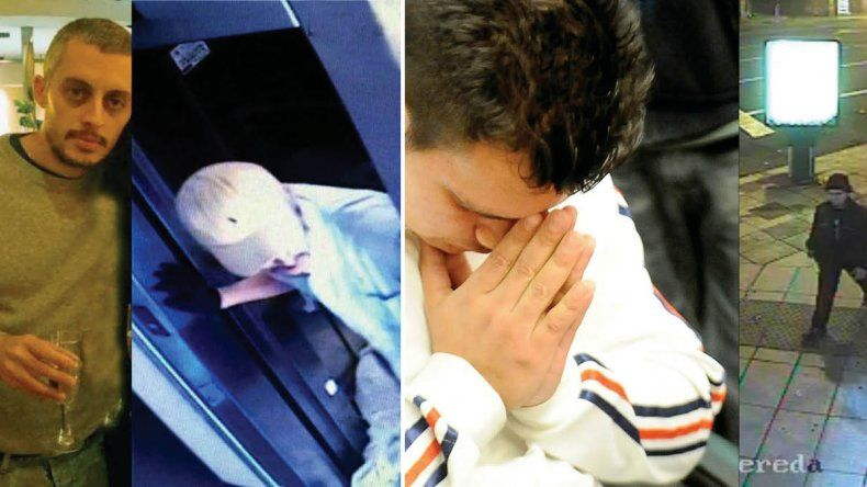 Santiago Corona fue descubierto por las cámaras de seguridad del edificio donde vivía su suegro y víctima. Azcona