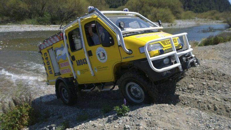 La jornada de instrucción fue organizada por el Servicio Nacional de Manejo del Fuego.