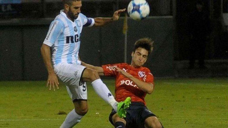 Racing le ganó por penales a Independiente