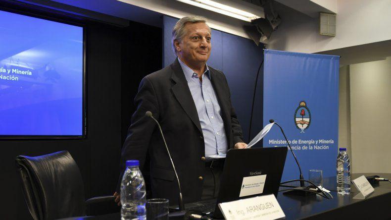 Conferencia de prensa de Juan José Aranguren.