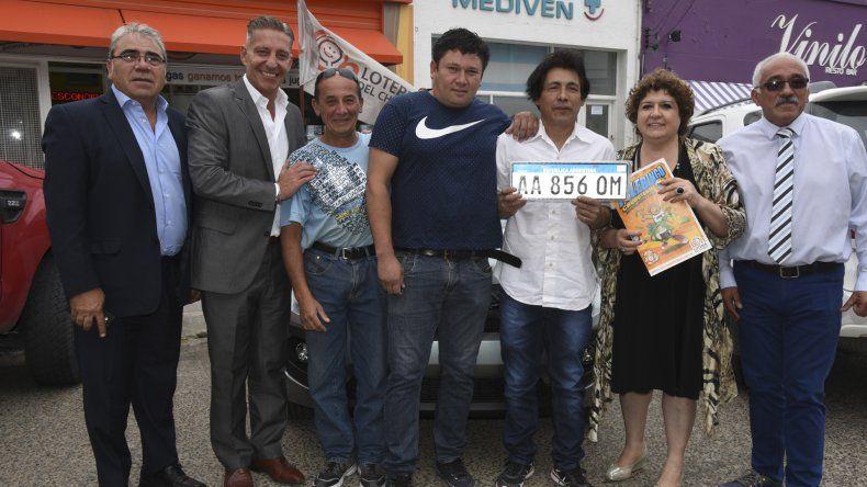 Los ganadores del Telebingo recibieron sus premios y ya se prepara el extraordinario de Cholila.