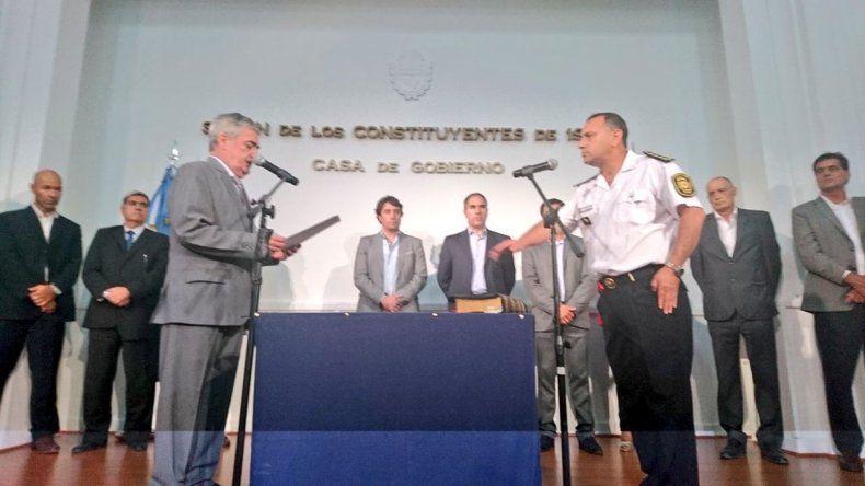 Avilés asumió como  jefe de la Policía del Chubut