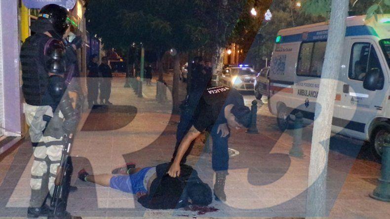 Brutal paliza recibió un ladrón por parte de su víctima