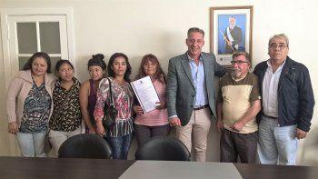 Referentes de las entidades beneficiarias valoraron el gesto del Gobierno provincial.