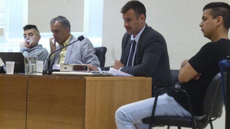 Miguel Angel Gómez y Pablo Levien son juzgados por el homicidio de José Luis González.