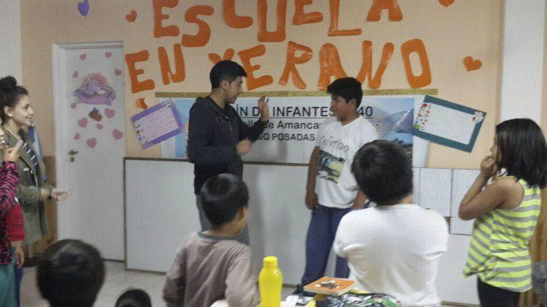 En Pico Truncado se lleva a cabo una de las experiencias.