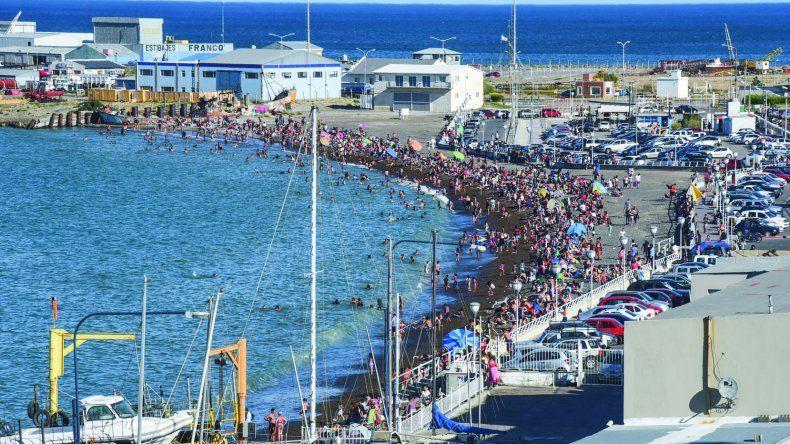 Con casi 35 grados, en Comodoro hubo más calor que en San Juan y La Rioja