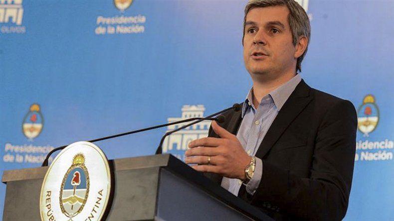 Marcos Peña defendió el convenio y no cree que exista conflicto de intereses
