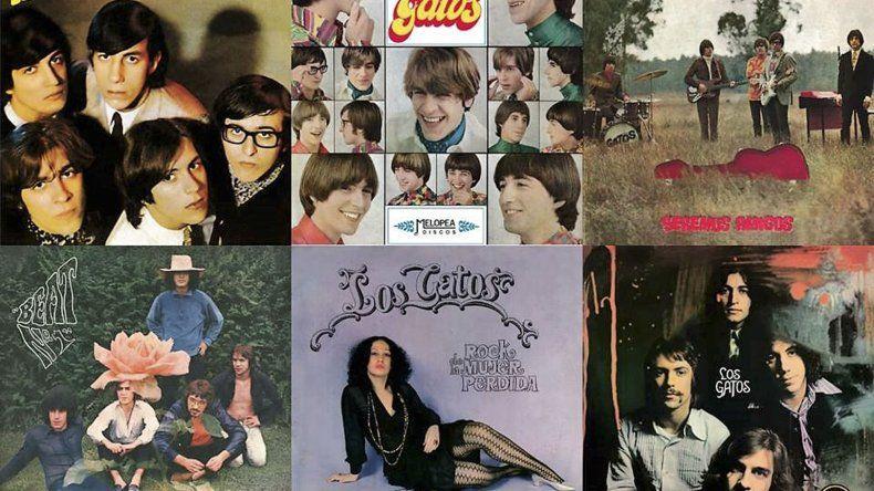 La discografía completa de Los Gatos podrá conseguirse nuevamente en las bateas.
