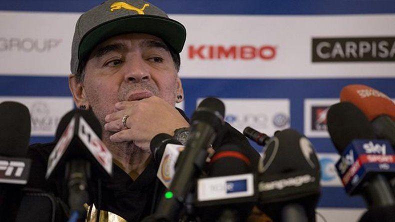 Maradona desmintió un nuevo escándalo en Madrid