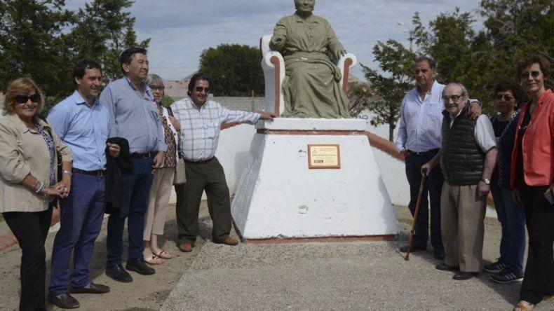 En el acto del barrio Presidente Ortíz se recalcó la importancia de preservar espacios culturales en nombre de la memoria colectiva.
