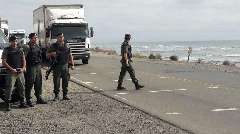 Municipales de Caleta levantaron el corte de ruta