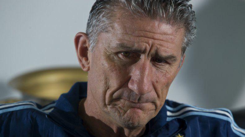 Edgardo Bauza no quiere mezclar lo íntimo con lo deportivo