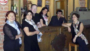 El grupo coral Malagma se presentará el jueves en el marco de los festejos por un nuevo aniversario de esta ciudad.