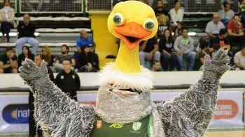 Charito fue elegida la mascota de la Liga Nacional de Básquet