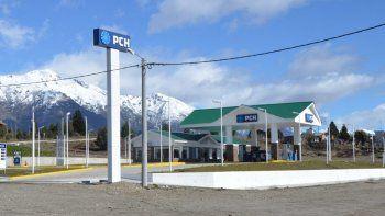 La estación de servicio que PetroChubut inauguró durante 2016 en Epuyen.