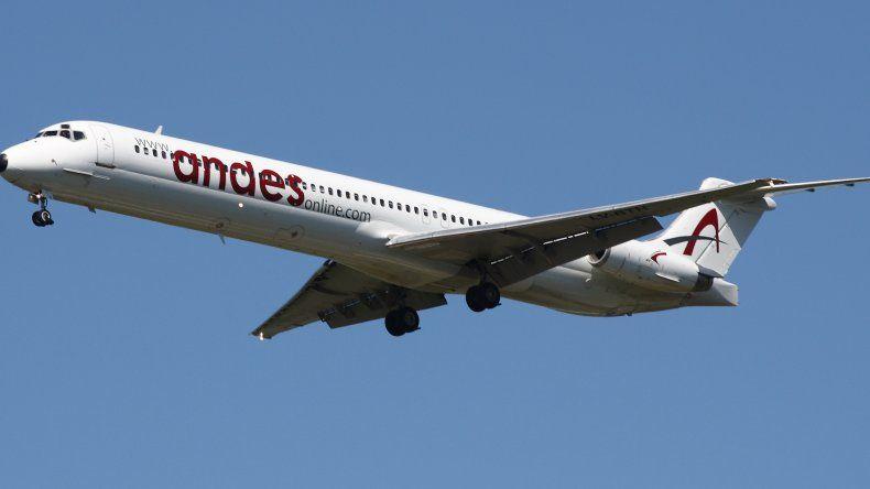 En marzo Andes incorporará a Comodoro como escala para sus vuelos