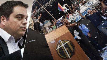 El ministro de Trabajo responsabilizó a los organizadores por los incidentes