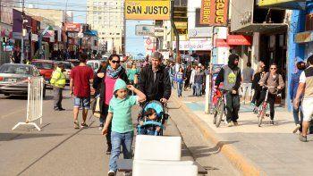Mañana nuevamente los comodorenses podrán disfrutar del Centro Comercial a Cielo Abierto. La San Martín será una peatonal.