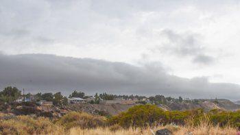 martes nublado con probabilidad de lluvias