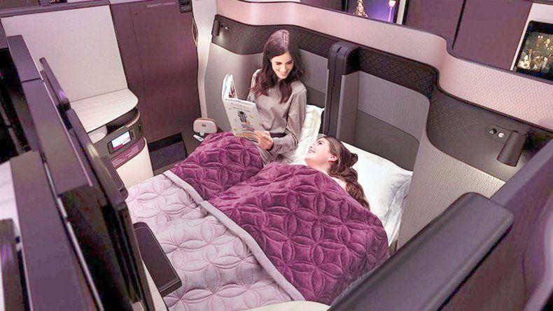Cómo viajan los ricos por Qatar Airways