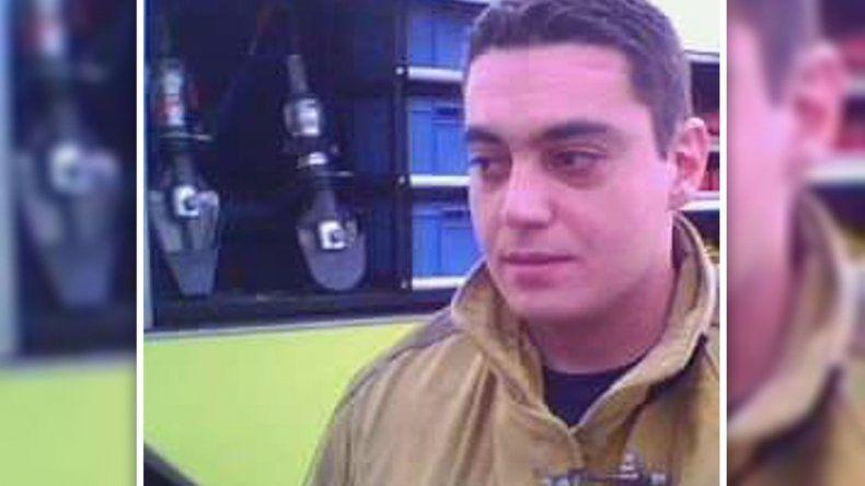Se cumple un año de la muerte del bombero Luis Gramajo