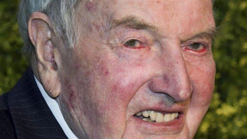 Murió el banquero multimillonario David Rockefeller