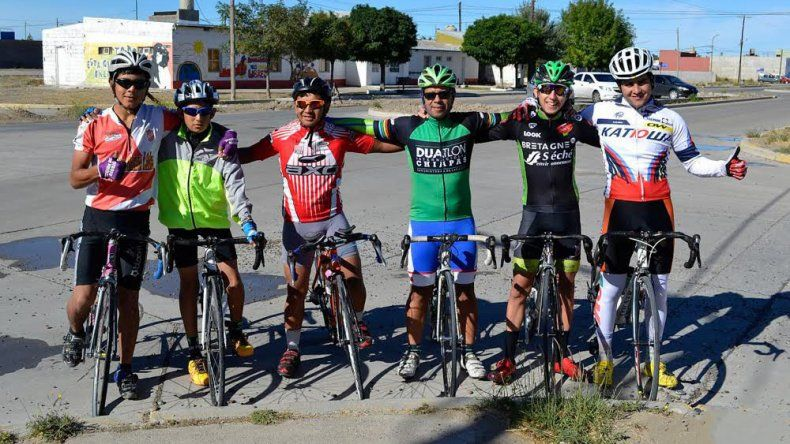 El equipo chubutense de ciclismo también ultima detalles para llegar de la mejor manera a los Juegos de la Patagonia.