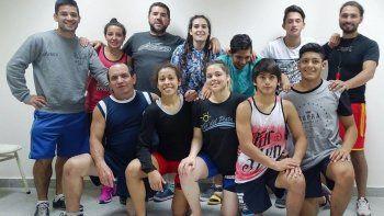 El equipo provincial de lucha que competirá en Córdoba para disputar este fin de semana el torneo Argentino.