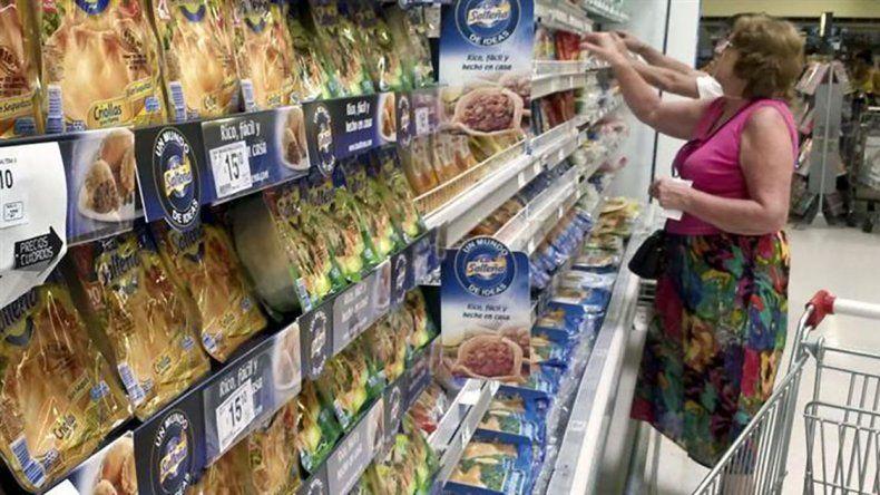 La facturación por las ventas en las grandes cadenas de supermercados creció un 21
