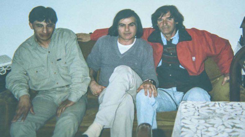 El Pampa y sus mentores