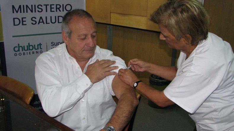 El ministro de Salud de Chubut Ignacio Hernández