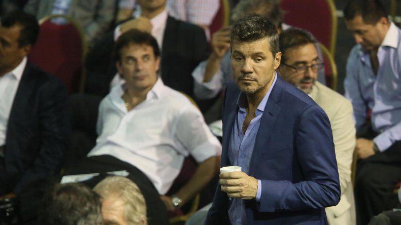 Tinelli renunció a la AFA y pidió licencia en San Lorenzo
