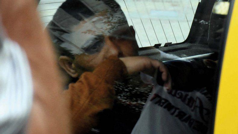 En la tarde de ayer se entregó a la Justicia Oscar Sapo Gómez