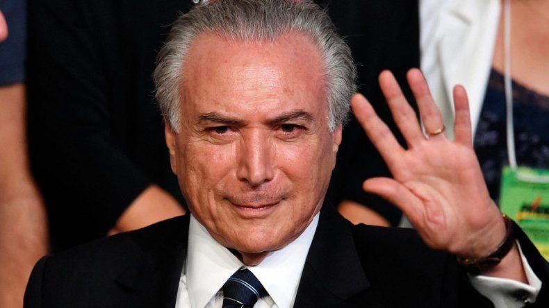 Temer reveló el entramado del juicio político a Dilma.