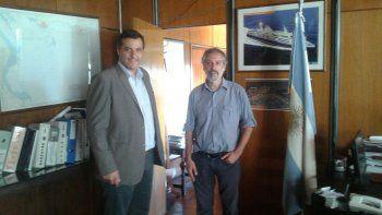 Awstin avanza por obras de dragado para el puerto de Comodoro