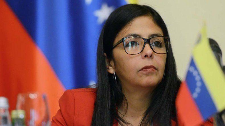 La canciller venezolana cuestionó a varios países de la región por su postura contra Venezuela.