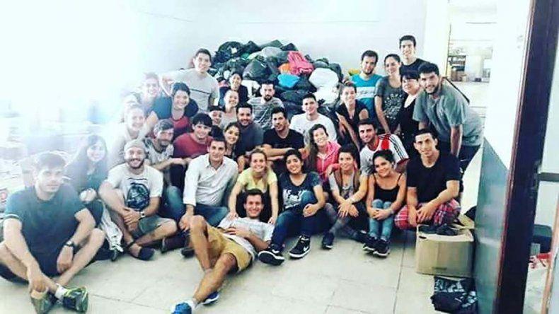 Jóvenes comodorenses que viven en La Plata enviarán un camión repleto de donaciones.