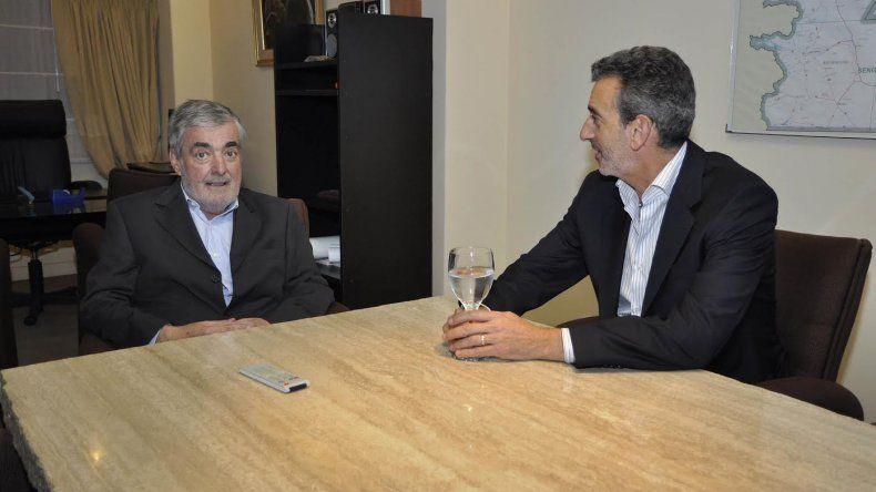 Randazzo consultó a Das Neves sobre la situación que vive Comodoro