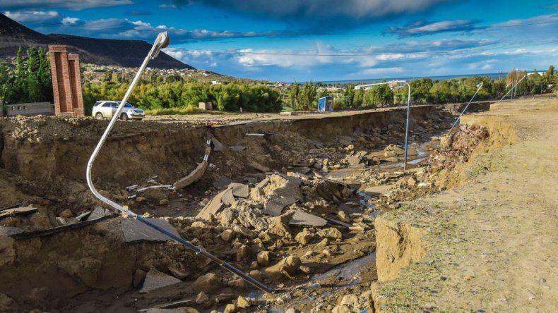 El respeto de los arroyos y cauces son fundamentales para la reconstrucción