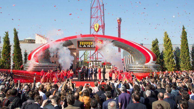 A principios de este mes abrió sus puertas con un gran acto de inauguración el parque temático.