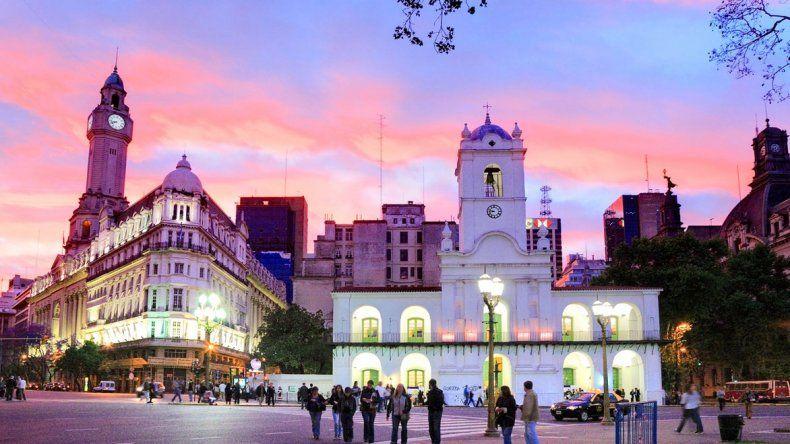 Buenos Aires fue la más elegida por los turistas durante el fin de semana largo.